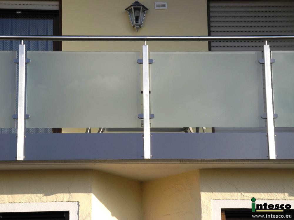balkongel nder balkongelaender glas 0238 5 intesco s r o. Black Bedroom Furniture Sets. Home Design Ideas
