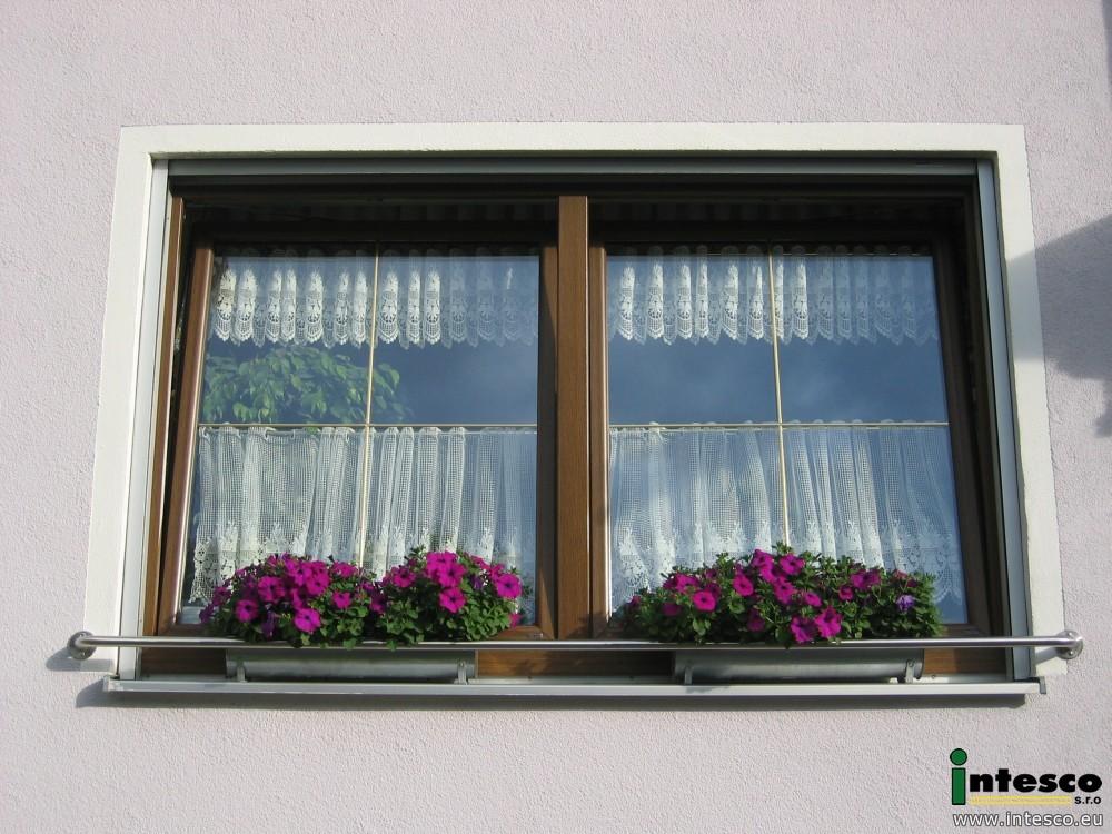Berühmt Fensterbank Absturzsicherung - Blumenkasten Fensterbank #CI_38