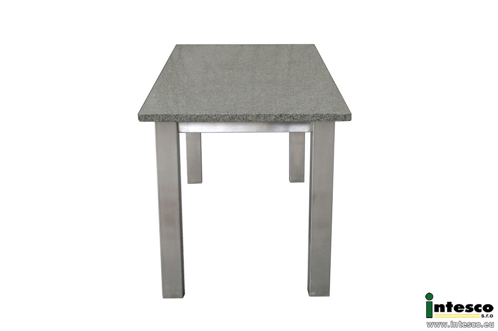 tische granit gartentisch edelstahl granit intesco s r o. Black Bedroom Furniture Sets. Home Design Ideas